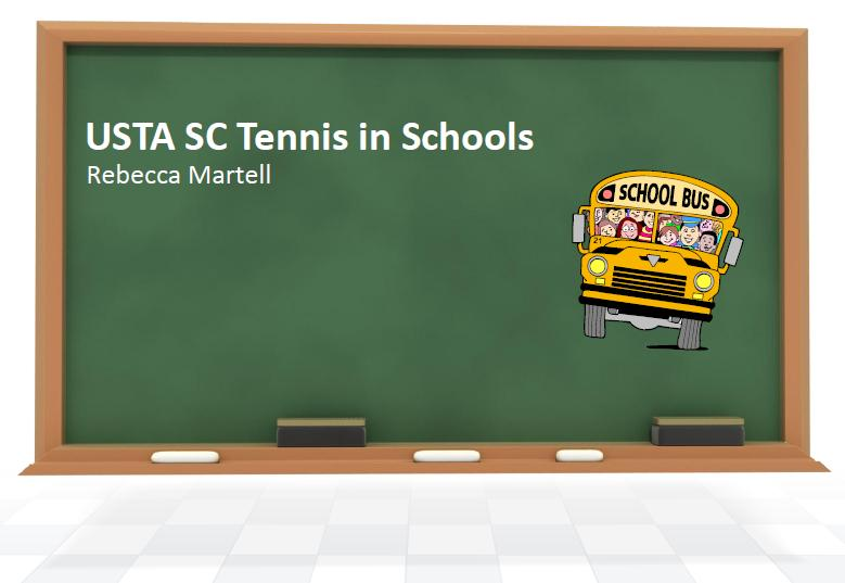 USTA SC Tennis in Schools Presentation